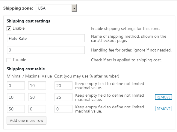 Easy WooCommerce Weight Based Shipping - 1