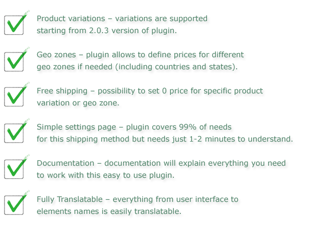 Easy WooCommerce Per Product Shipping - 1